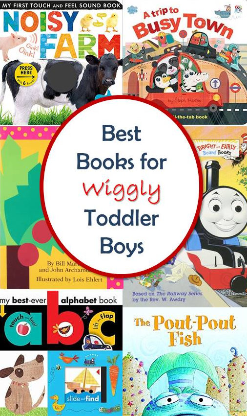 Books for Toddler Boys