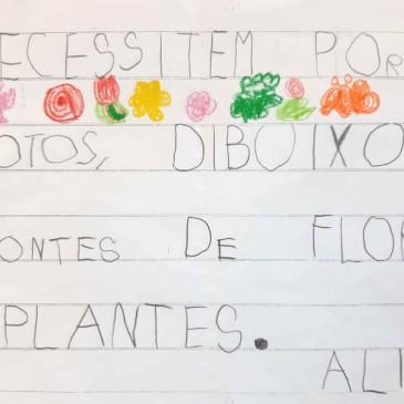 Children's Handwriting in Catalan