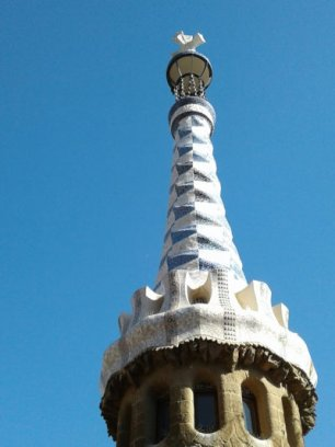 Park Guell Rooftop Image