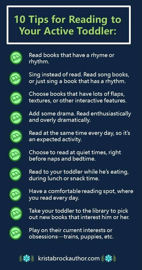 Tips for Reading to Active Toddlers