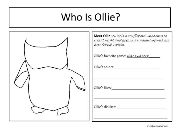 Character Card for Ollie