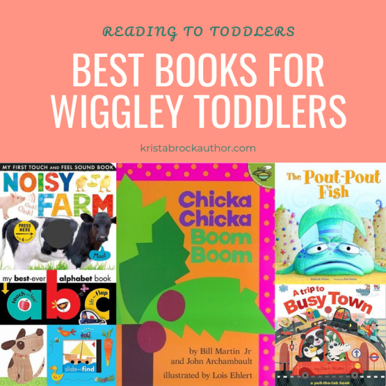 Reading to Active Toddlers
