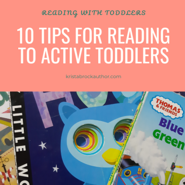 Reading to Active Toddler