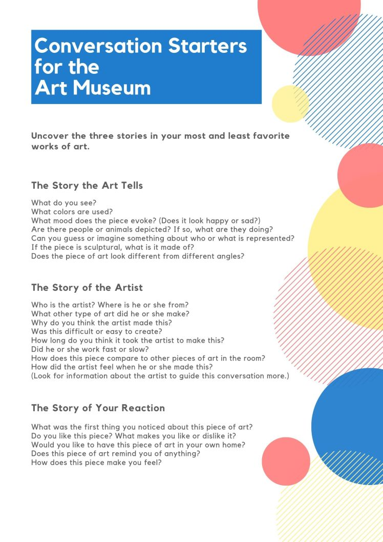 How to Talk to Kids About Art