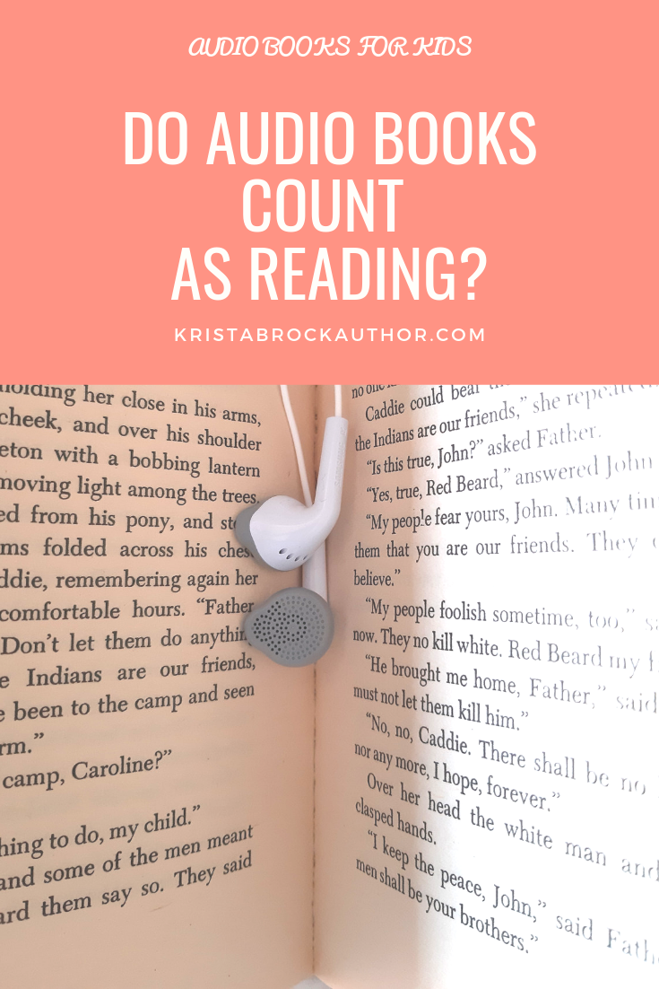 Does Listening to an Audio Book Count as Reading?