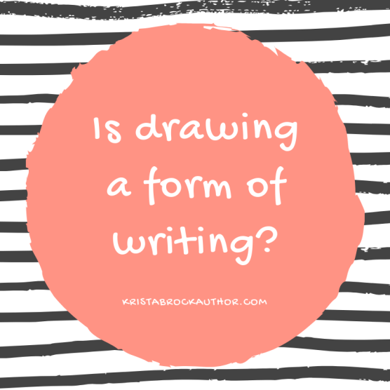 Is Drawing a Form of Writing?