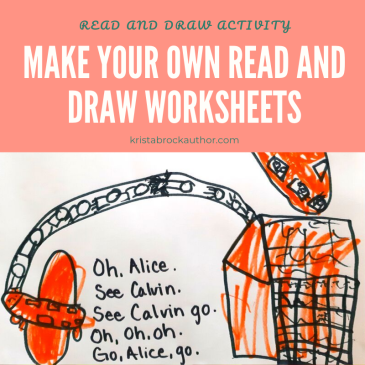 Make Your Own Read and Draw Activity