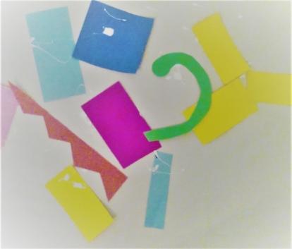 Art Project based on Henri's Scissors