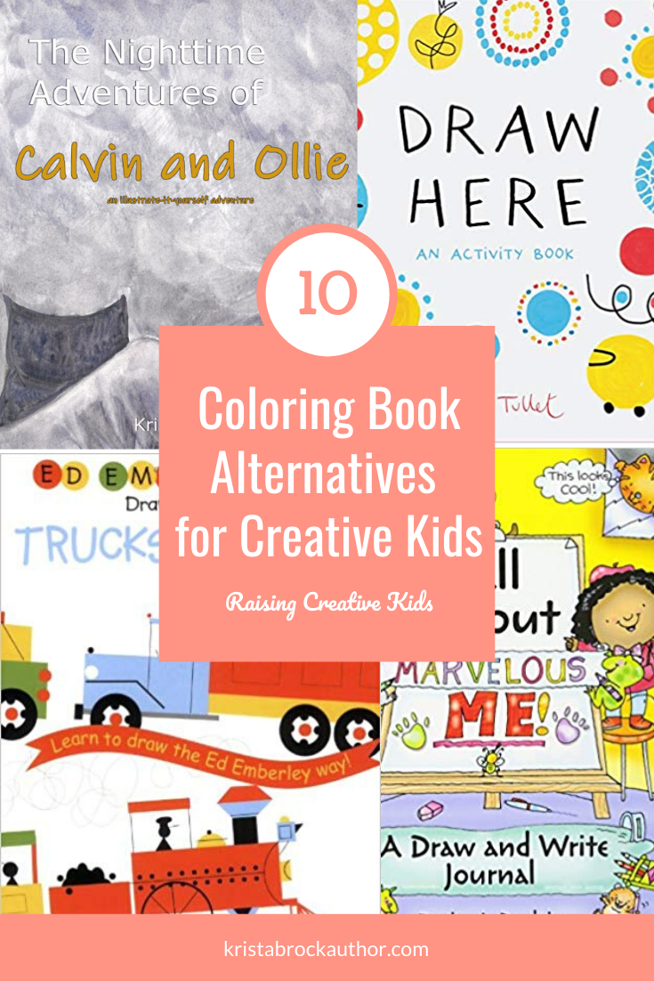 Alternatives to Coloring Books for Kids