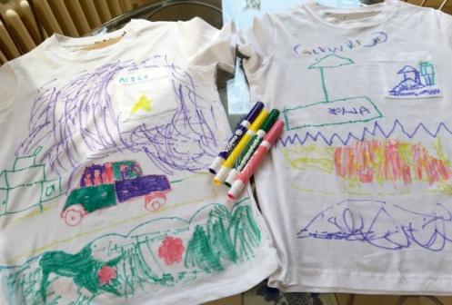 Kids t-shirt drawings