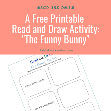 Read and Draw Worksheets: The Funny Bunny