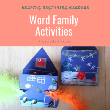 Word Family Activities for Beginning Readers