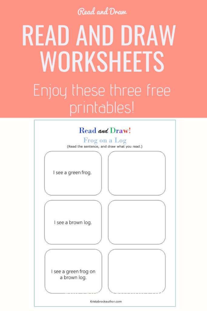 Read and Draw Worksheet Pack